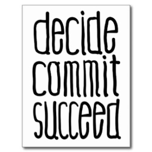 motivational_words_decide_commit_succeed_postcard